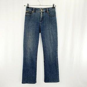 St. John Sport Jeans Medium Wash Straight H1131